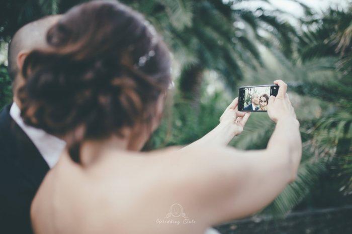 Sposi e selfie