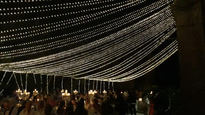 grande vela di lucine