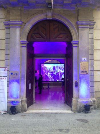 Illuminazione ingresso Chiesa