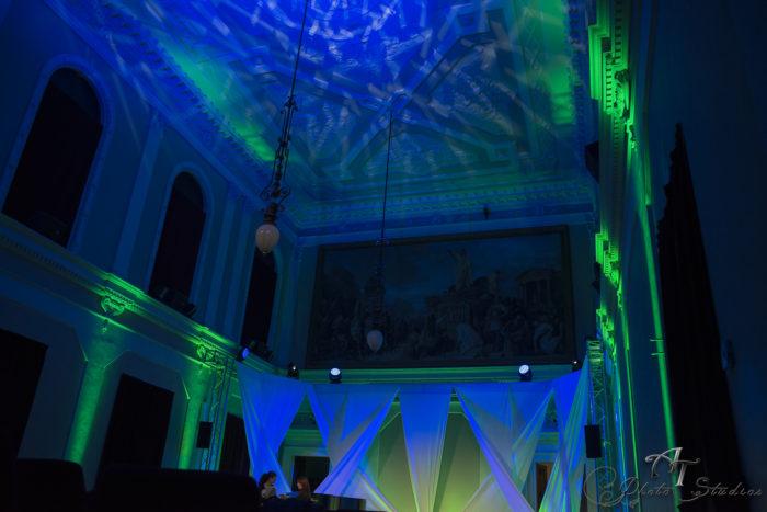 Illuminazione sala cerimonia