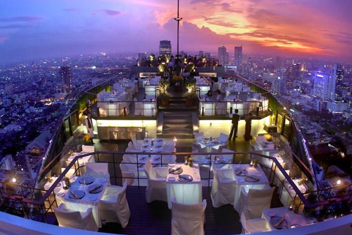 Vertigo Restaurant - Bangkok