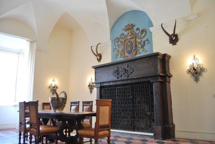 La sala del Camino