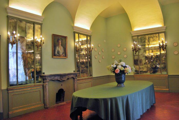 La sala degli specchi