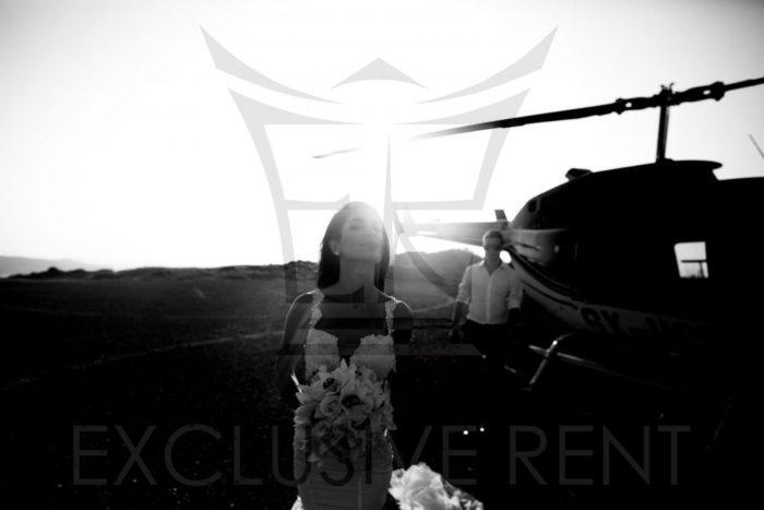Matrimonio in elicottero