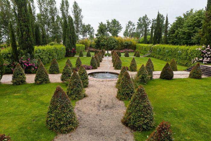 Giardino della fontana rotonda
