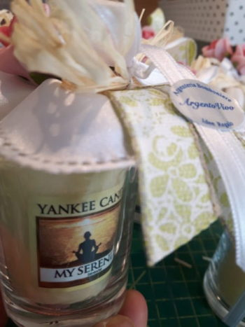 Yankee Candle con confezione
