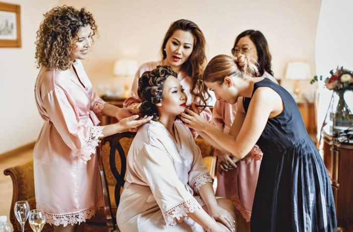 wedding beauty service