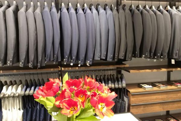 fiori nella showroom GB