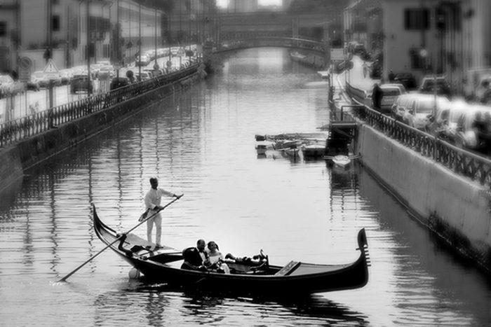 Gondola sul Naviglio