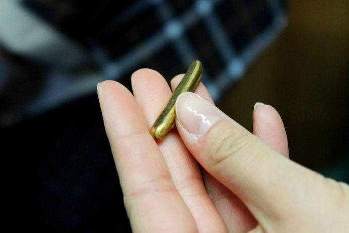 barretta d'oro da laminare