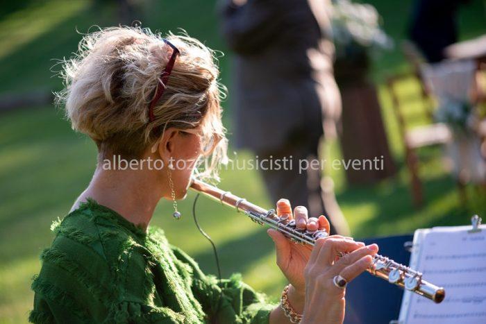Flauto in formazione da rito