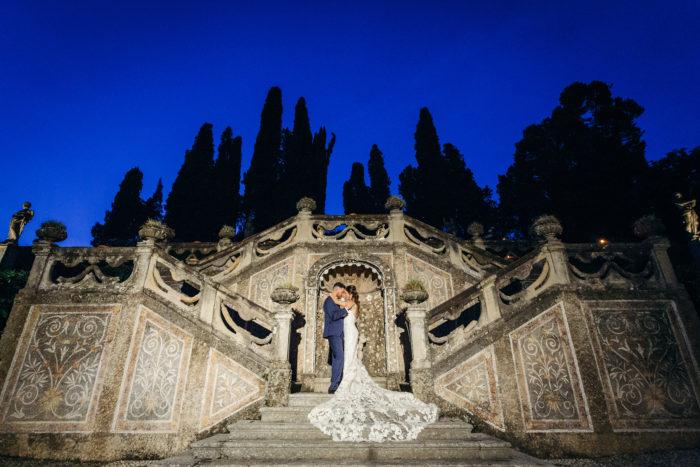 sposi in notturna