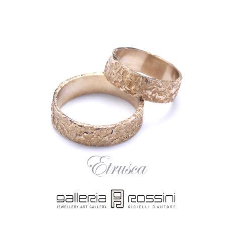 wedding rings Etrusca