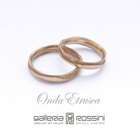 wedding rings Onda Etrusca