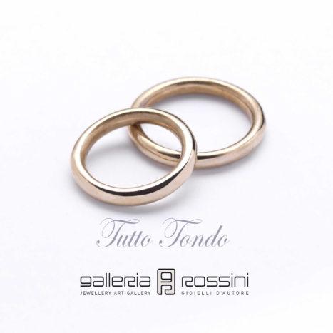 Wedding Rings Tutto Tondo