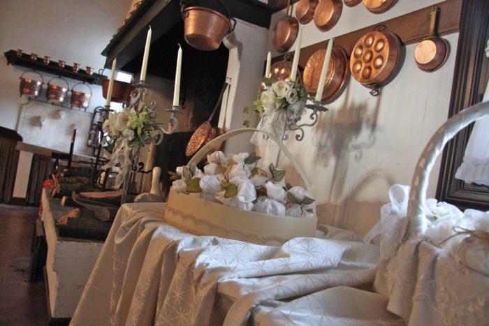 La cucina antica della villa