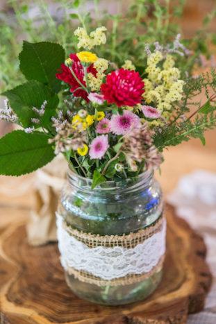 centrotavola fiori di campo