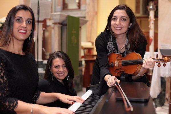 Trio organo,soprano e violino