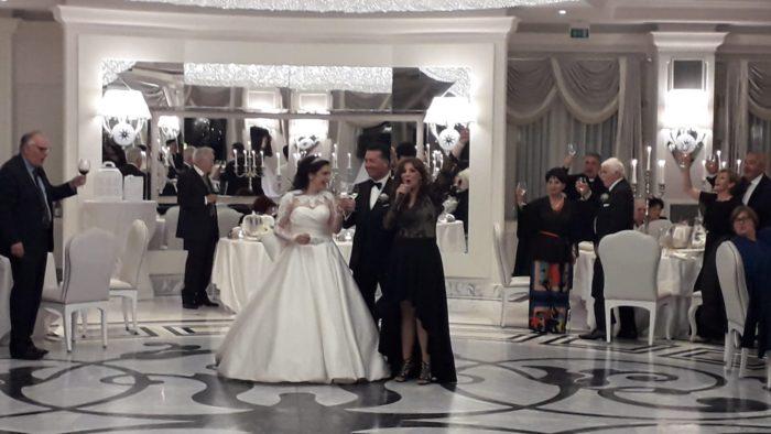Brindisi e accoglienza sposi