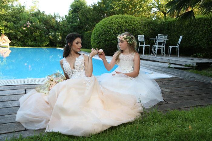 abiti sposa damigella Bergamo