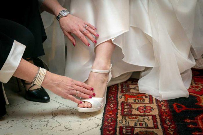Getting ready della sposa