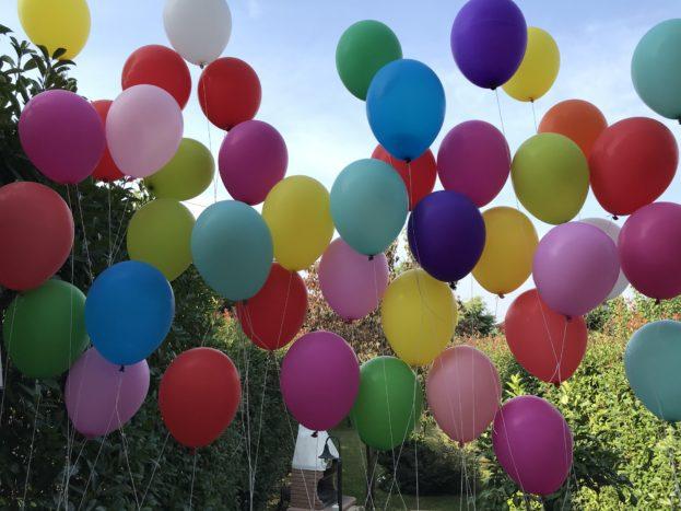 Lancio di palloni