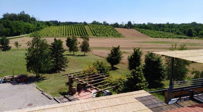 Panorama dallla terrazza