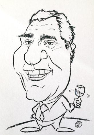 caricatura Sordi