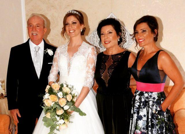 La famiglia della sposa