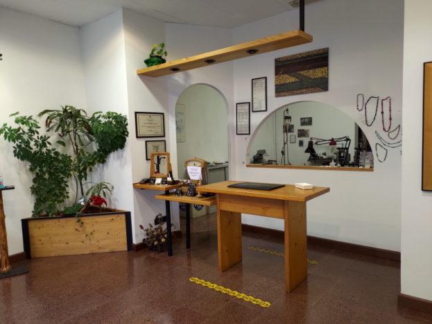 Il negozio e laboratorio