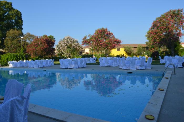 matrimonio piscina mirtillo