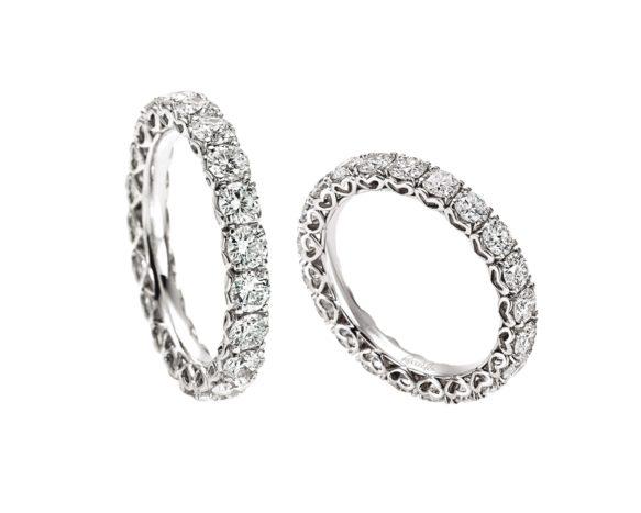 Anello diamanti Re Carlo