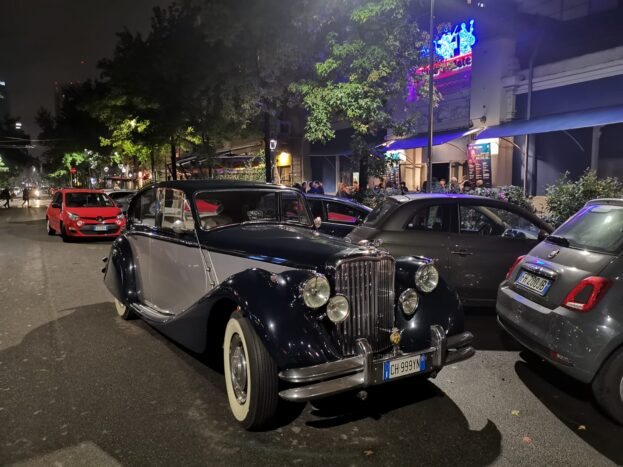 Jaguar MKV blu/argento