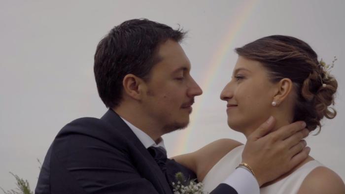 The kiss trough the rainbow