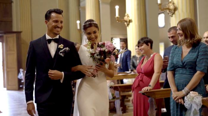 La sposa e lo sposo!