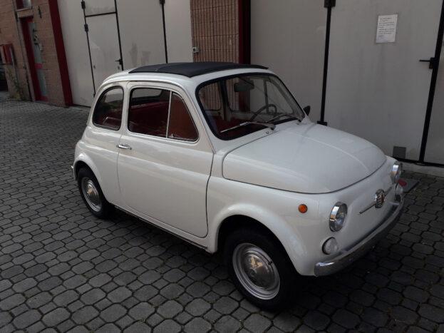 Fiat 500 bianca