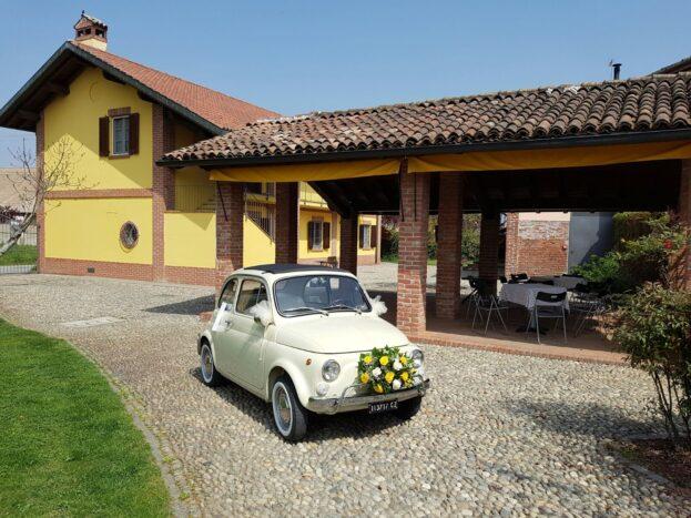 Fiat 500 avorio